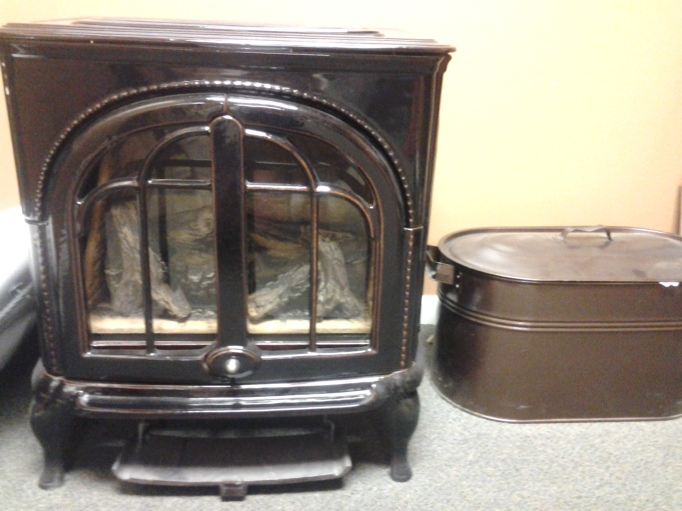 Display Model (Gas) Stove at J & R Heating