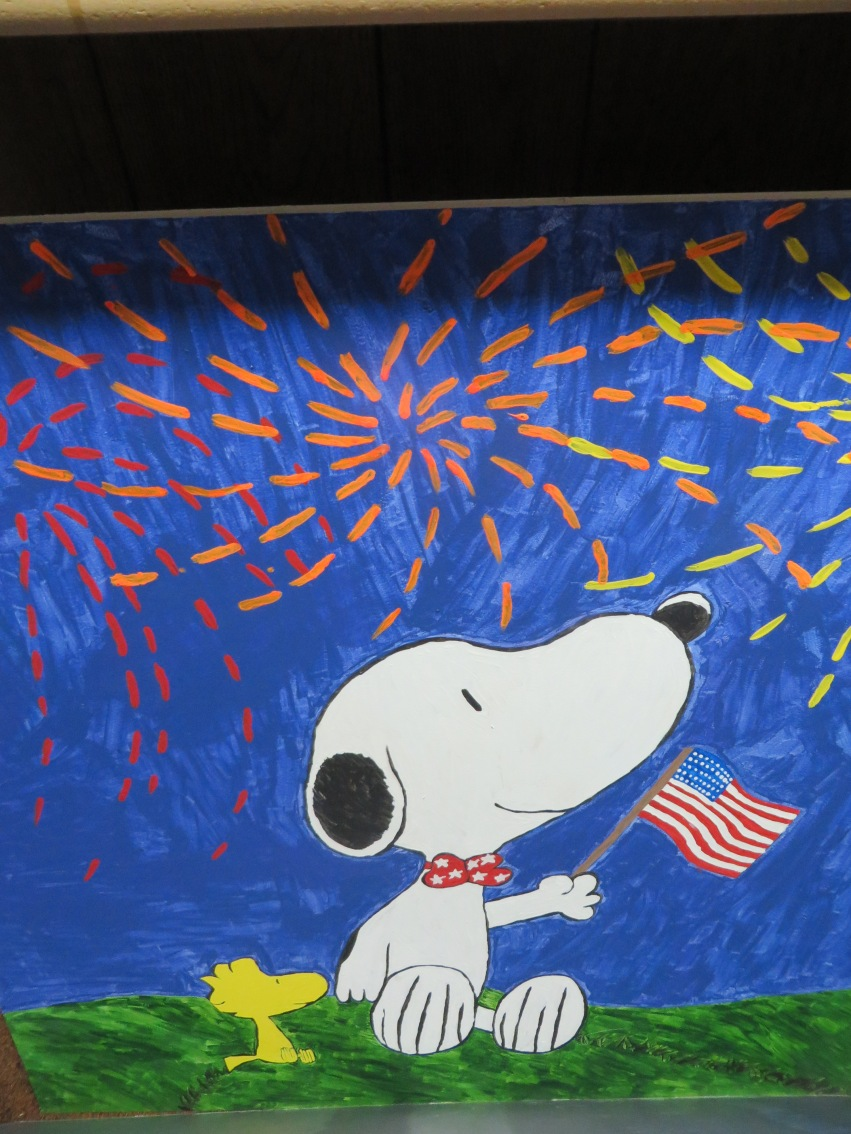 Snoopy Independence Day