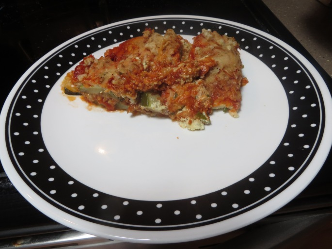 Zucchini Ricotta Bake