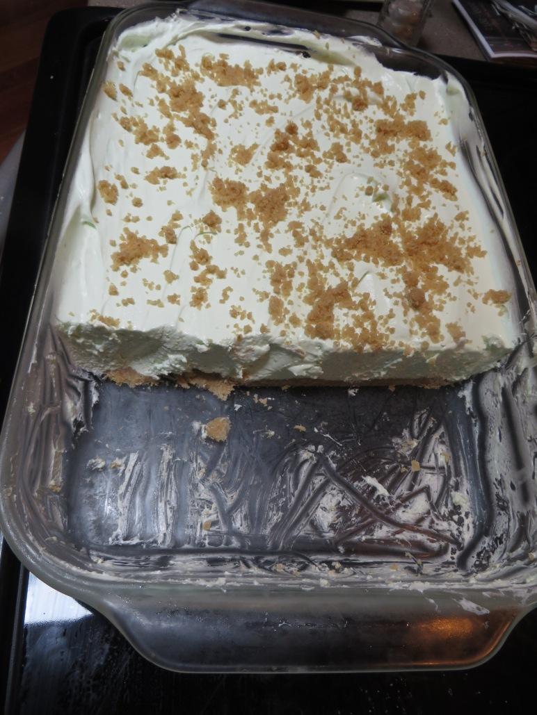 Lime Chiffon Dessert